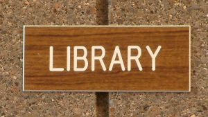 library-sign-68954-m